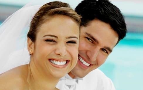 لبخند عروس داماد