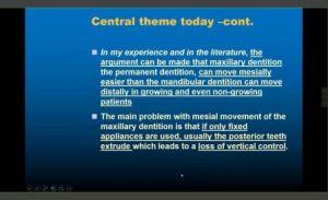اهداف درمانی ناهنجاری کلاس 3