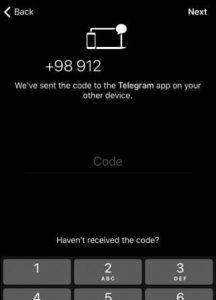آموزش نصب تلگرام برای دندانپزشک ها -3